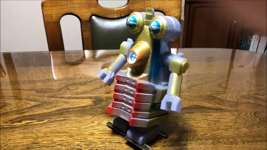 """Robot monster """"Billgamo"""" appeared"""