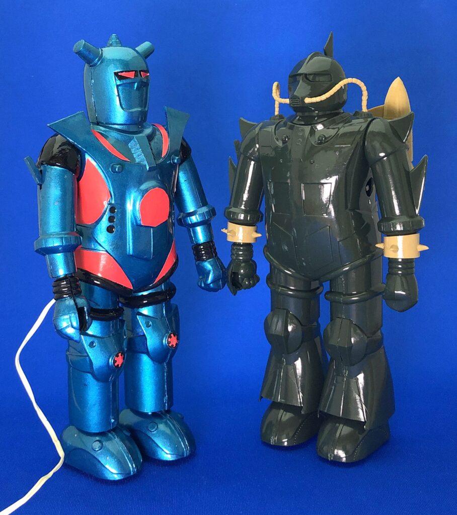 "Marui's plastic model ""Remote control Robot Hiryū"""