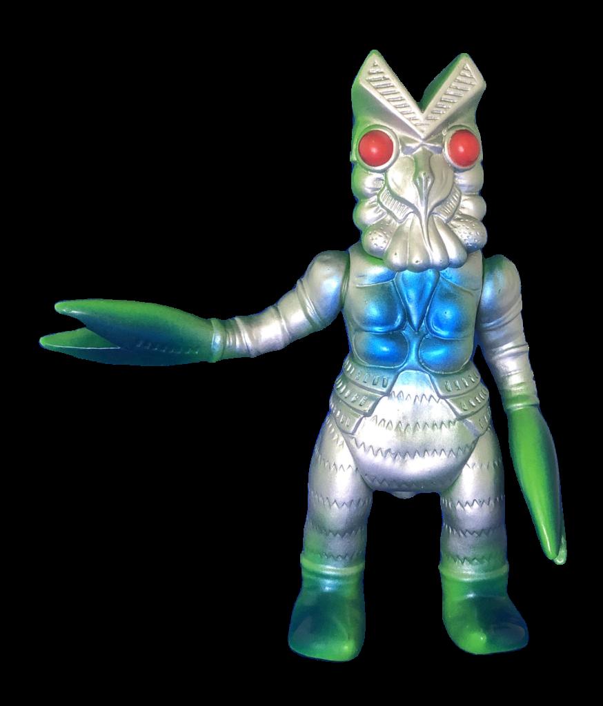 """Alien Baltan"" soft vinyl doll"