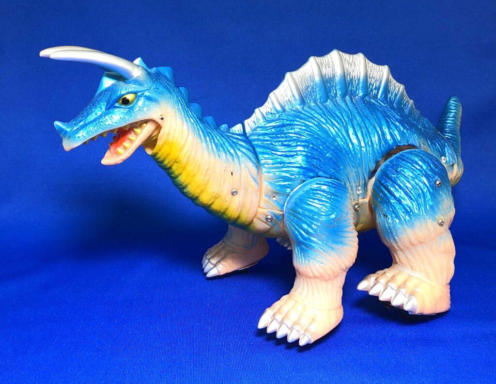 ソフビ電動化計画「古代怪獣キングザウルス三世」