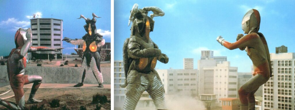 """""""Ultraman"""" Z-ton the first and the second"""