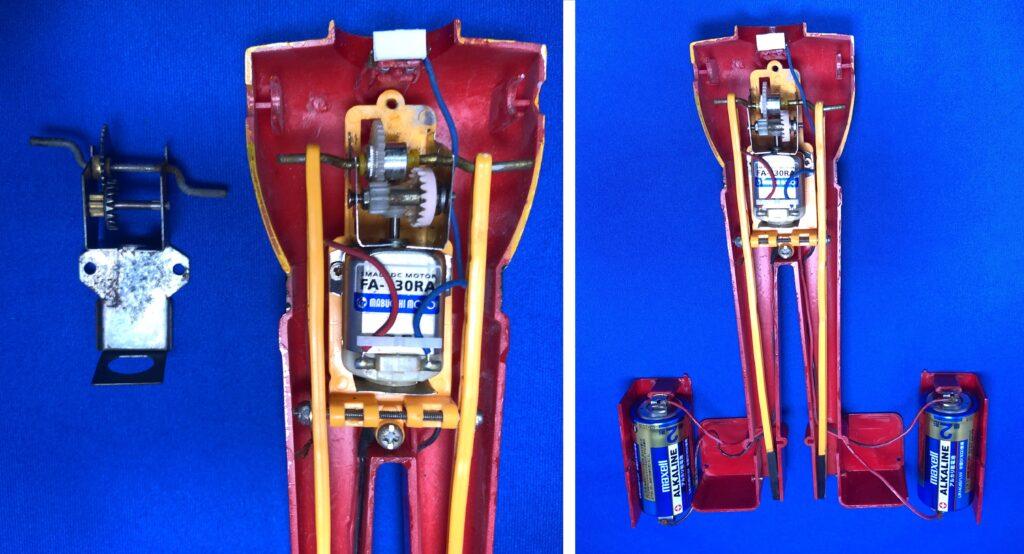 """Bandai """"Getter 2"""" resale plastic model"""