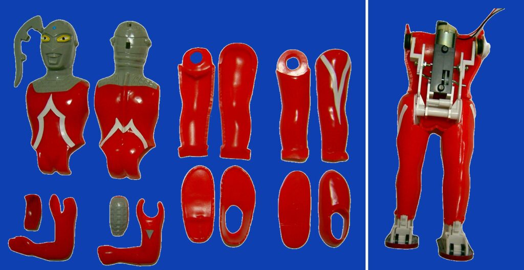 "Maruzan plastic model ""Ultraseven"" reprint soft vinyl doll"
