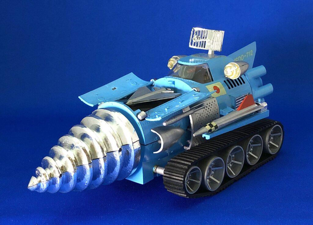 """Big Moguras"" resale plastic model"